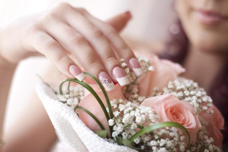 Маникюр для невесты