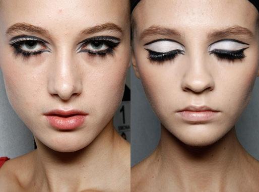 модный макияж весна лето 2012